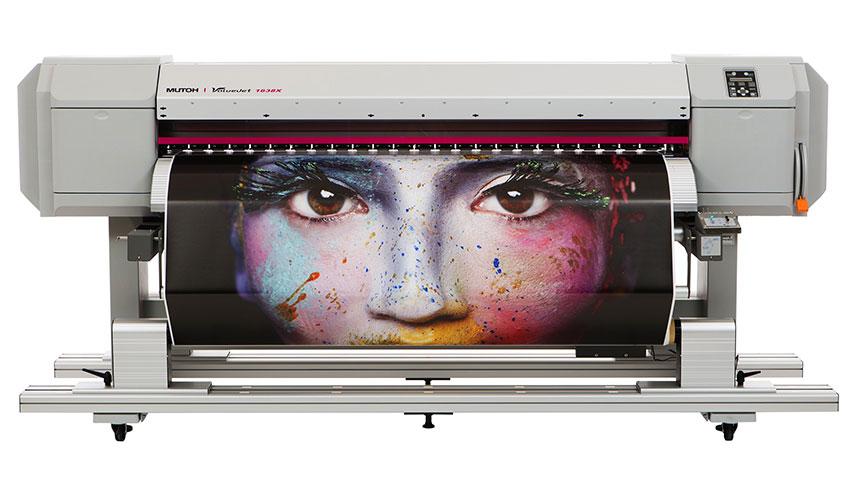 Impresora digital Mutoh para materiales flexibles. Nortecolor
